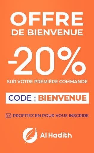 promo BIENVENUE -20%